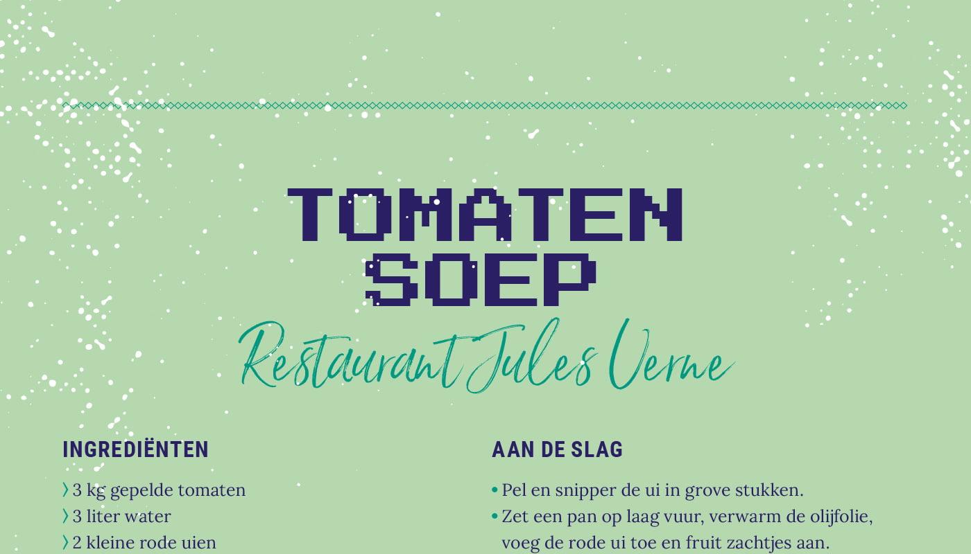 Tomaten soep van Jules Verne