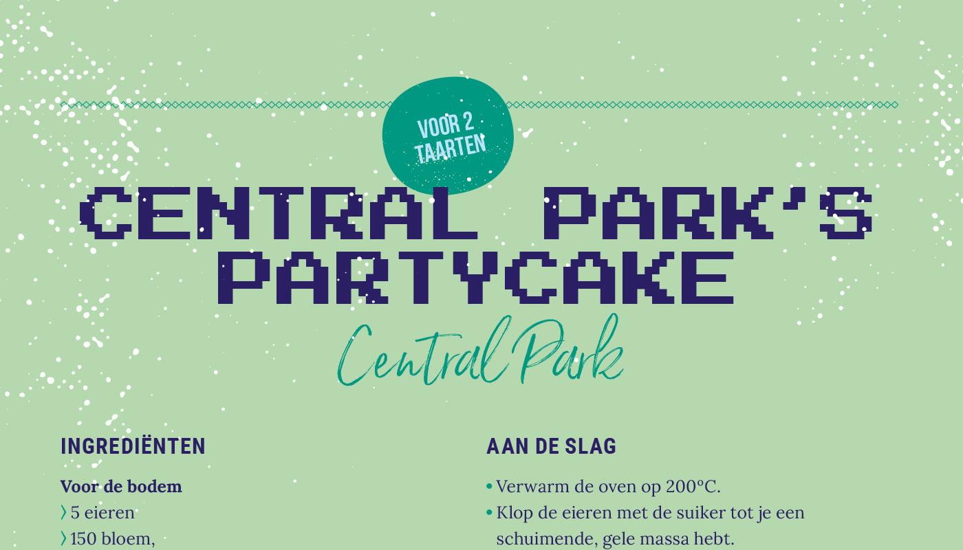 Central Park's Partycake