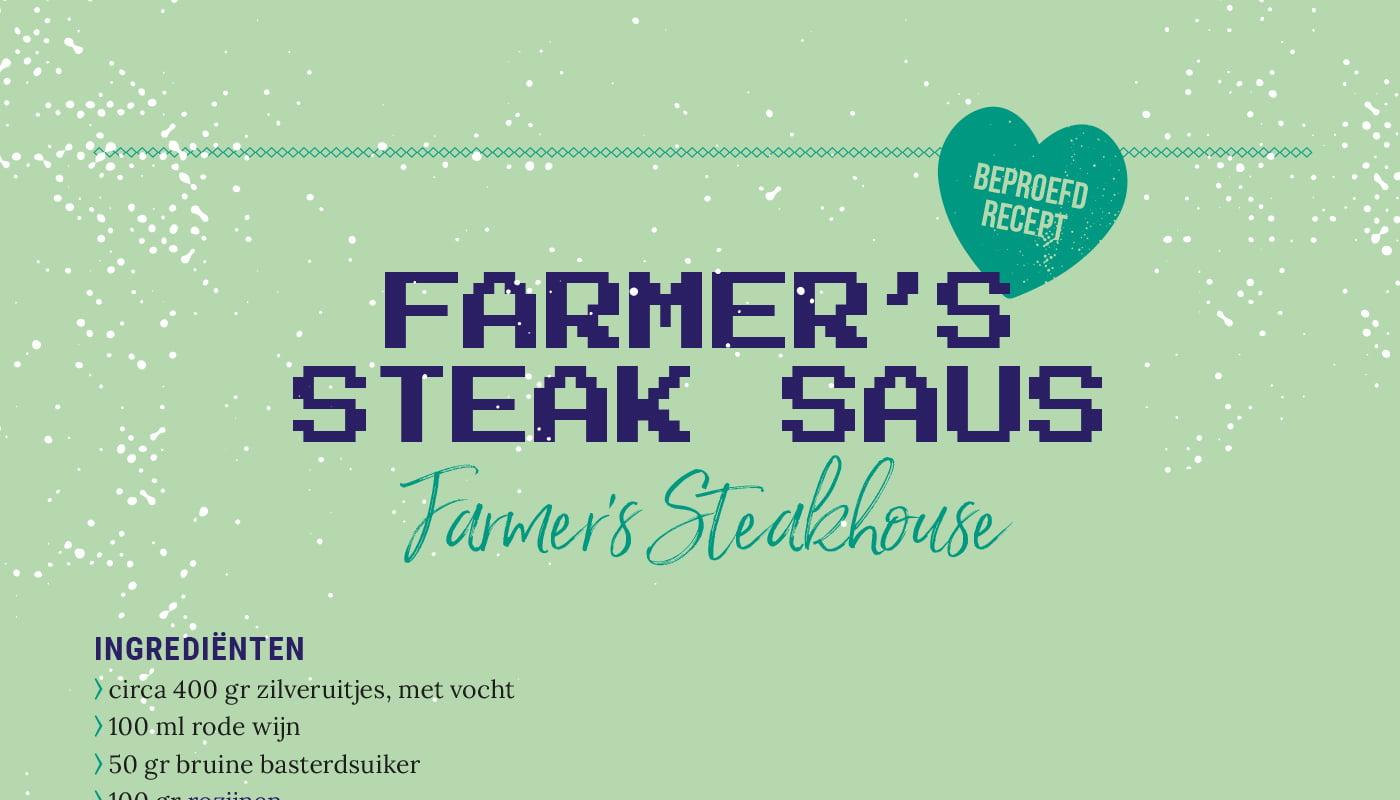 Farmer's steak saus